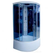 Душевая кабина 3302А 90*90*220 blue mirror