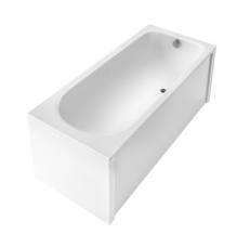 Ванна акриловая прямоугольная «Акцент» 150х70 см в комплекте с универсальной фронтальной панелью