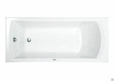 Ванна акриловая прямоугольная «Монако XL» 160х75