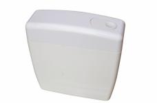 Бачок сливной среднерасполагаемый с трубой кнопка (пластик)