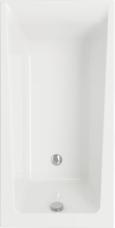 ВАННА акриловая LORENA 140X70 ультра белый