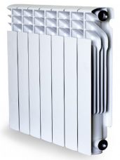 Алюминиевый радиатор RADENA R 500/100 ( 6 секций)