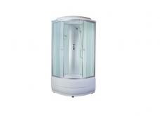 Душевая кабина aquapulse 4101D 80х80 fabric white
