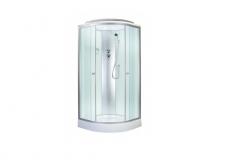 Душевая кабина aquapulse 4121D 80х80 fabric white