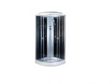 Душевая кабина aquapulse 4121D 80х80 black