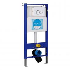 Инсталляция для унитаза Aquatek Slim 113x51 INS-0000004 клавиша хром