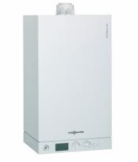Конденсационный настенный газовый котел Viessmann Vitodens 100-W 35 кВт тип WB1C149 (двухконтурный)