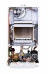 Котёл газовый настенный, Baxi, ECO NOVA 24F, мощность, кВт-9,6-24, двухконтурный, камера сгорания-закрытая, цвет-белый