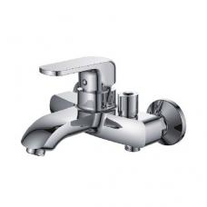 Смеситель для ванны, короткий излив, с боковым шаровым переключателем в корпусе L3244