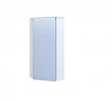 Подвесной шкаф угловой Нота 335х750 с зеркалом фацет