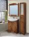 Варианты и габаритные размеры комплекта мебели для ванной комнаты Классика 1