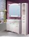 Варианты и габаритные размеры комплекта мебели для ванной комнаты Классика 3