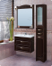 Варианты и габаритные размеры комплекта мебели для ванной комнаты Классика 4