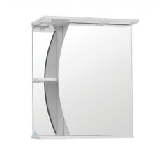 Шкаф зеркальный Камелия 600