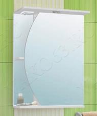 Шкаф зеркальный Луна 550