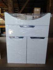 Тумба «Оливия» 1 Ящик 550+раковина «Элеганс» 550