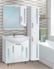 Варианты и габаритные размеры комплекта мебели для ванной комнаты Сфера 1