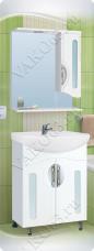 Варианты и габаритные размеры комплекта мебели для ванной комнаты Сфера 2