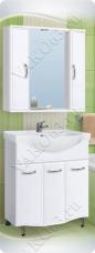 Варианты и габаритные размеры комплекта мебели для ванной комнаты Венеция 4