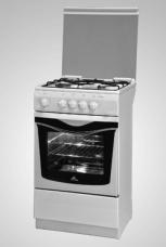 Газовая плита De Luxe Evolution 506040.04 г (крышка, чугунные решетки)