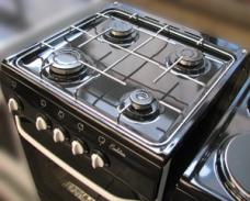 Газовая плита De Luxe Evolution 5040.38г (цвет черный)
