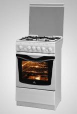 Газовая плита De Luxe Evolution 5040.33г (крышка, чугунные решетки)