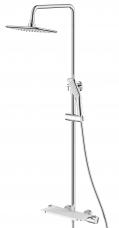 Смарт-Афалина душевая система с термостатическим смесителем для ванны и душа.