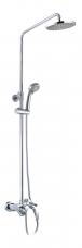 """Смарт-Прайм"""" душевая система со смесителем ванна/душ"""