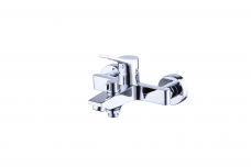 Смарт-Эдванс смеситель для ванны/душа, короткий излив, керамический переключатель, с аксессуарами, хром