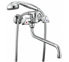 «Смарт-Бэйс» смеситель д/ванны/душа, излив 350 мм