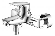 Смарт-Фалькон смеситель для ванны/душа, излив 120мм, с аксессуарами, хром