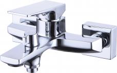 Смарт-Лофт смеситель для ванны и душа, керам.переключатель, с аксессуарами, хром