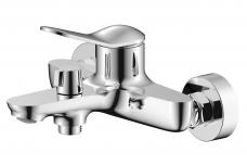 Смарт-Сфера смеситель для ванны/душа, излив 120мм, керам.переключатель, с аксессуарами, хром