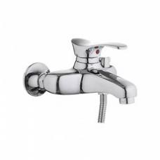 Смеситель для ванны, короткий излив, с боковым шаровым переключателем в корпусе L3201
