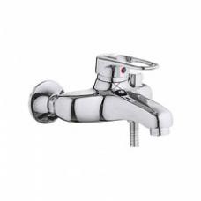 Смеситель для ванны, короткий излив, с боковым шаровым переключателем в корпусе L3204