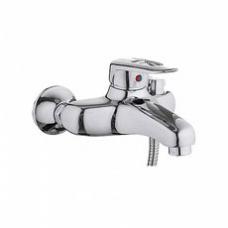 Смеситель для ванны, короткий излив, с боковым шаровым переключателем в корпусе L3207