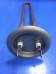 Нагрев. элемент RF TW 700 (медн)Вт. M4 под анод (L-250мм, фланец 64 мм. ТЭН для плоского водонагревателя)