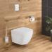 Система инсталляции Grohe Solido 4 в 1: инсталляция с перекладиной, подвесной унитаз Euro Ceramic, сиденье с микролифтом, панель смыва Arena Cosmo 39536000
